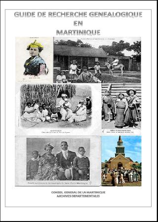 Guide recherche de généalogique en Martinique
