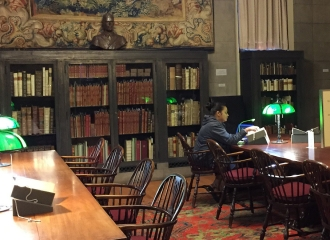 mission de recherche, researching, John Carter Brown Library