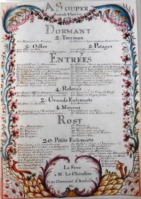 tanlistwa-menu-à-souper-Feve-8-janvier-1752