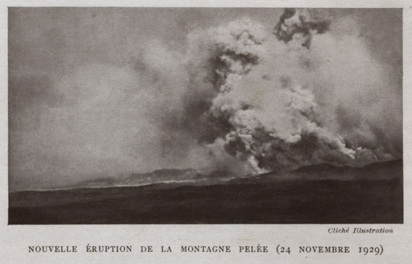éruption volcanique, Montagne Pelée, volcanic eruption, Pelean Mountain