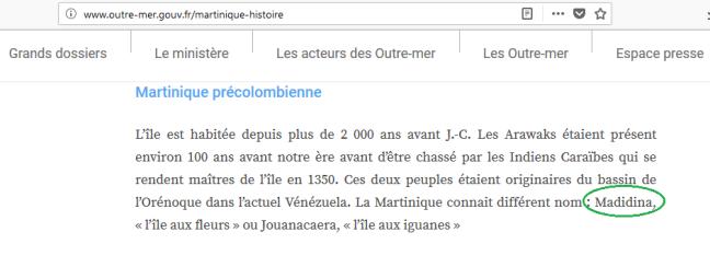 Tanlistwa-Madidina-ou-Martinique-ministère-Outre-Mer