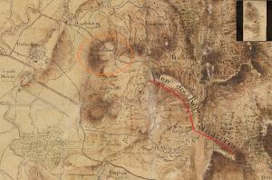 Tanlistwa, carte, map, Moreau du Temple, 1770