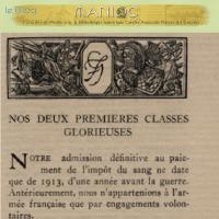 [Sur Manioc.org] Morts pour la France : Livre d'or du Contingent de la Guyane Française à la Grande Guerre (1914-1918)