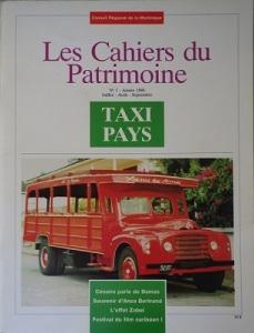 tanlistwa, couverture représentant une photographie couleur d'un taxi pays rouge