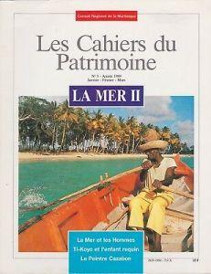 tanlistwa, couverture représentant un homme manoeuvrant à la rame son canot au bord d'un littoral tropical planté en cocotiers.