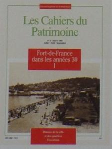 tanlistwa, couverture représentant une photographie en noir et blancs du front de mer de Fort-de-France dans les années 1930.