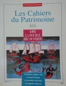 tanlistwa, couverture représentant une gravure en coulure des 3 bateaux de Christophe Colomb, avec des sirènes dans l'eau.