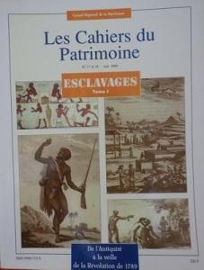 tanlistwa, couverture représentant plusieurs document d'archives avec des esclaves dans diverses situations et à diverses époques