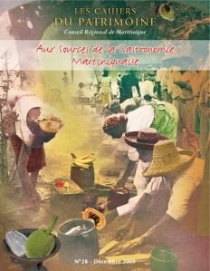 tanlistwa, couverture représentant un montage photo avec des personnes chapeau accroupis devant des fruits et légumes comme au marché.