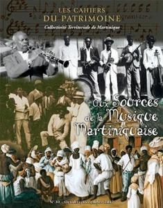 tanlistwa, couverture représentant en haut une partition, puis desmusicien, et en bas une gravure détourée de danses d'esclaves