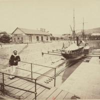 Industrial heritage: the dry dock of Fort-de-France