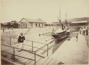 tanlistwa, bassin de radoub, Fort-de-France, Drydock, Martinique