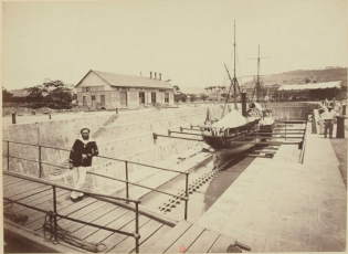 tanlistwa, bassin de radoub, Fort-de-France, Drydock, Martinique
