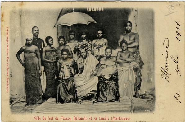 tanlistwa-Behanzin-et-sa-famille-Martinique