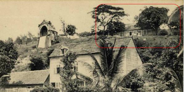 tanlista, Martinique, fontaine Gueydon, Villa les bosquets, Fort-de-France