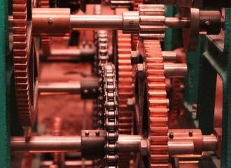 tanlistwa, photo représentent les rouages et engregnages d'une machine.
