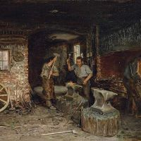 Élie, Brutus, Pompé... enslaved blacksmiths in the town in 1830.