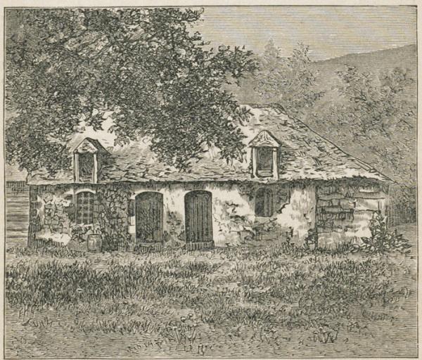 tanlistwa, 1880, ancienne cuisine de La Pagerie, Trois-Ilets, Martinique