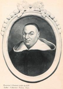 Portrait en médaillon du Père Labat