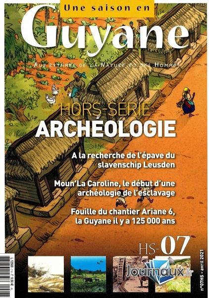tanlistwa, couverture de revue, une saison en Guyane, 2021
