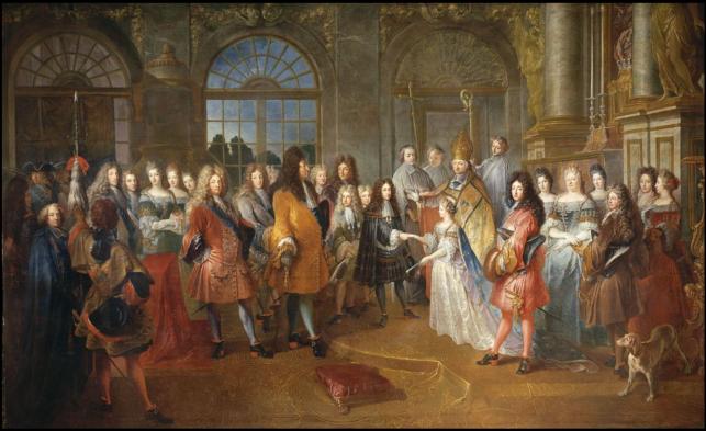 tanlistwa, Mariage de Louis de France, duc de Bourgogne, et de Marie-Adélaïde de Savoie